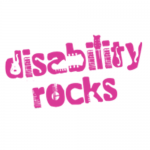 Disability Rocks Square White