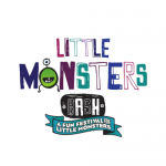 Little Monsters Square White